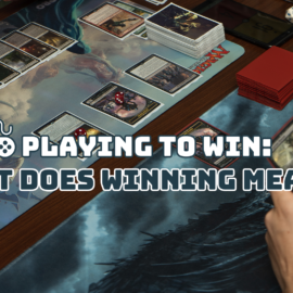 Playing to Win: What Does Winning Mean?