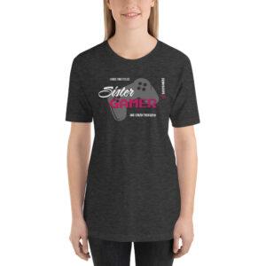 Short-Sleeve T-Shirt – Sister Gamer