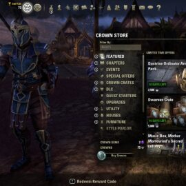 A Quick Guide to ESO: 3 Basic Beginner Tips