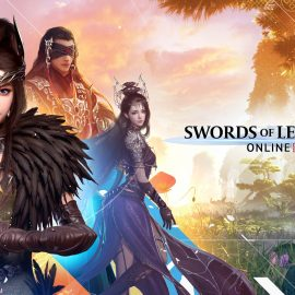 Visually Stunning MMORPG — Swords of Legends Online — Available Now!