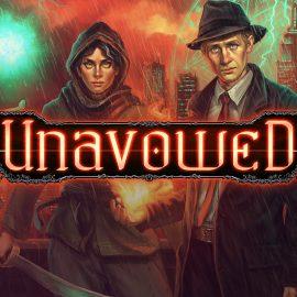 Urban fantasy adventure, Unavowed, is now on Nintendo Switch!