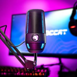 NEW TORCH MICROPHONE – STUDIO-QUALITY SOUND FOR STREAMERS AND CREATORS